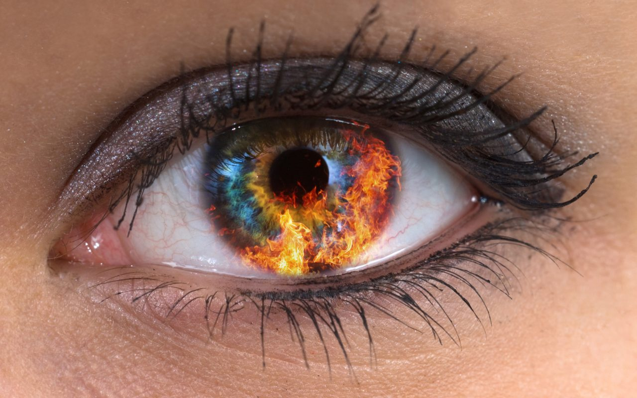 Как сделать красные белки глаз фото 159