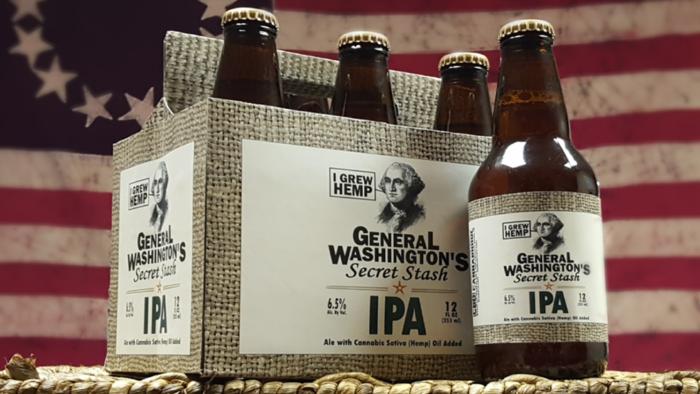 Пиво с марихуаной скоро поступит в продажу в США.