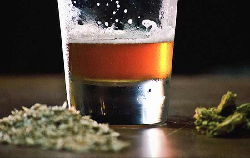 Лечение алкоголизма марихуаной