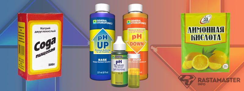 Управление уровнем pH