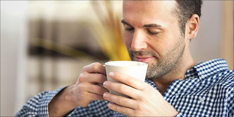 Чашечка кофе и косяк