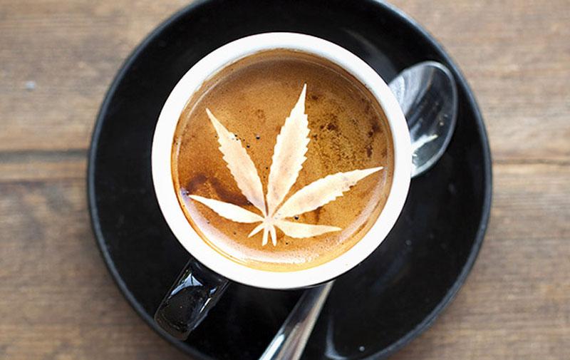 Кофе и марихуана
