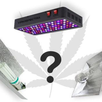 Выбор света для выращивания в гроубоксе