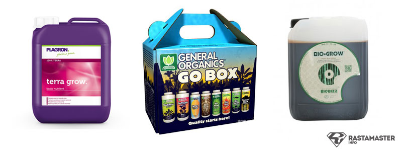 Plagron. General Organics. Biobizz удобрения для роста марихуаны