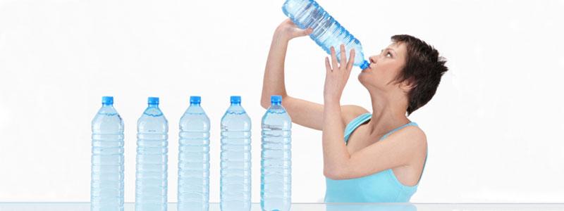 Пить много воды для выведения ТГК из организма