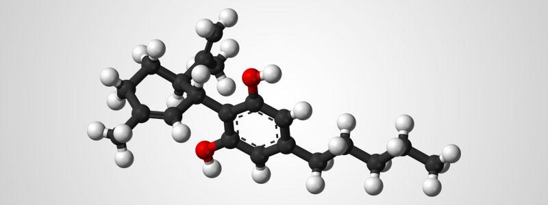Молекула КБД в пространстве