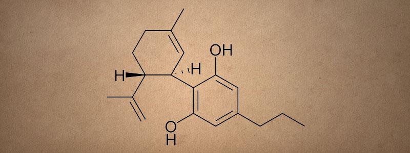 Химическая формула каннабидиварина (КБВД)