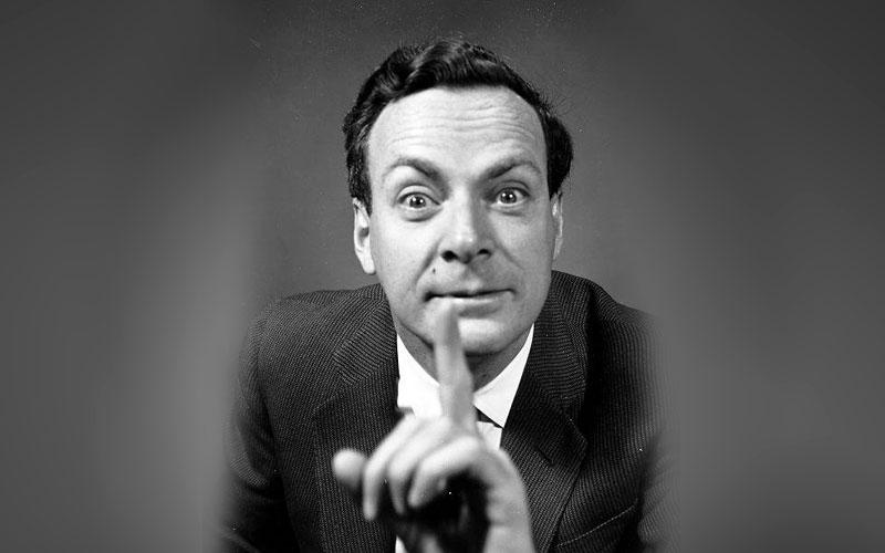 ученый Ричард Фейнман фото