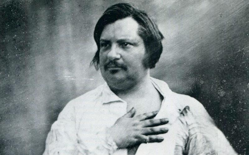 Оноре де Бальзак портрет
