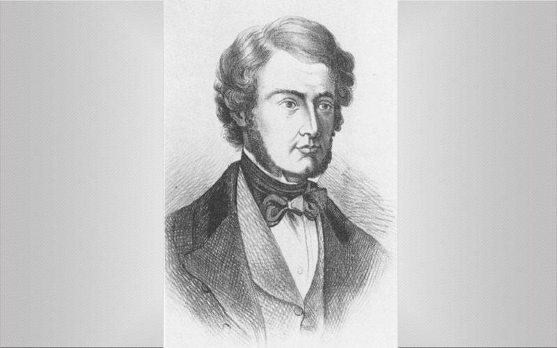 Уильям Брук О'Шонесси портрет, XIX век
