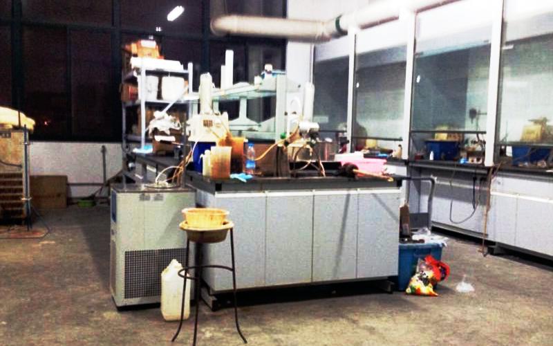 Подпольное фото лаборатории