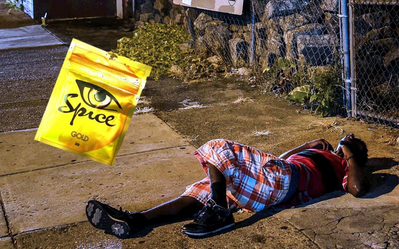Человек под кайфом от спайса фото
